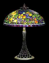 "24"" Fruit Tiffany Lamp"