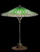 "24"" Lotus Tiffany Lamp"